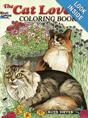 The Cat Lovers Coloring Book by Ruth Soffer
