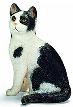 Sitting Cat Figurine made by Schleich